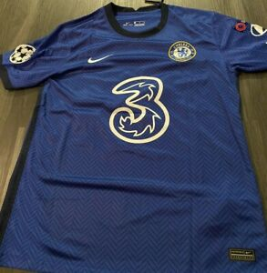 Christian Pulisic Chelsea home blue jersey Medium Nike 2020-2021!