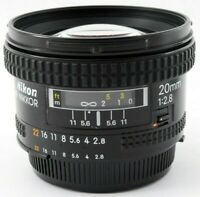 [Excellent +5] Nikon AF Nikkor 20mm f2.8 Auto Focus Wide Angle Lens Japan 721491