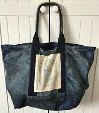Ralph Lauren Extra Large Travel/Tote Bag, Distressed Denim  (Denim & Supply)