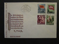 Germany DDR 1953 Marx Series FDC to 48pf / Unaddressed / Cacheted - Z4517