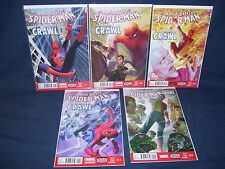 Amazing Spider-Man Learning to Crawl #1.1 - #1.5 Set  NM with Bag and Board 2014
