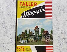 Faller  AMS --  Modellbau Magazin 55 von 1966, Sprache niederländisch