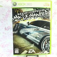 USED Xbox360 Need for Speed Most Wanted 90485 JAPAN IMPORT