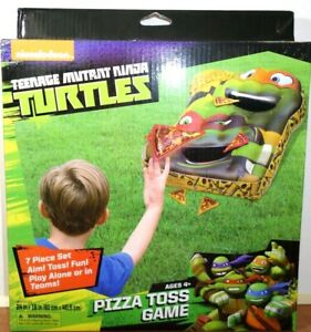 Teenage Mutant Ninja Turtles Pizza Toss Game