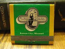 Used Vintage Waldo Astoria A Dinner Playhouse Kansas City Missouri matchbook