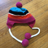 Kate Spade Baby Girl Hat 6-12 Months Wool Fleece Lining Beanie