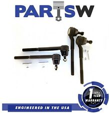 4 Tie Rod Ends Kit Set Blazer S10 2Wd Grand Prix Malibu Regal 1 Year Warranty