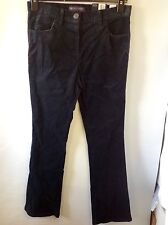 M&S Collection Bootleg Trousers Size: 8 Medium