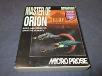 MASTER OF ORION PC Computer Game w/ 3.5 Discs + Box & Manual - Microprose SimTex