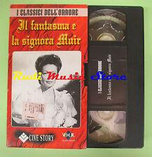 film VHS cartonata IL FANTASMA E LA SIGNORA MUIR Mankiewic CINE STORY(F77)no dvd