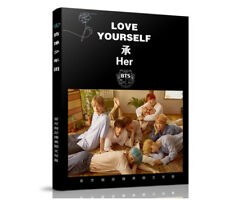 Kpop BTS LOVE YOURSELF Photo Album Bangtan Boys Lyrics Book Give Poster+Bookmark