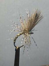 Olive & Yellow Owl Grunter (pack of 3) size 12 barbless hook