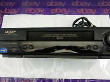 Sharp XA-705 VHS VCR 4-head Professional Series
