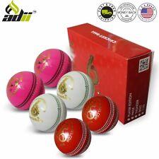 Six Gear Cricket Balls leather A Grade Handstitched T20 League Match 1-6PCs Set
