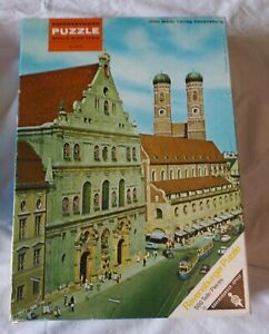 Ravensburger Puzzle World Wide Serie -- München 1970 -- 500 pieces