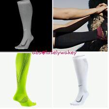 Nike Elite Lightweight Compression Over-The-Calf Running Socks