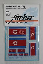 Archer 1/35 Korean Flags (4 sizes, 5 flags) [Dry Transfer Decal] AR35375