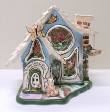 2002 Blue Sky Clayworks Heather Goldminc Robin's Song Cottage