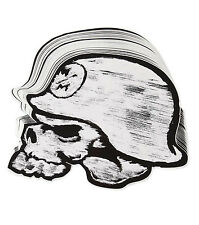 "Metal Mulisha Helmet 12"" sticker Decal Moto-X FMX  race Skull Logo"