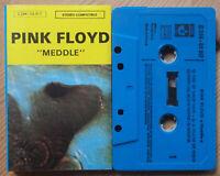 PINK FLOYD - MEDDLE (HARVEST C 244 - 04 917) LATE 70s FRANCE REISSUE CASSETTE