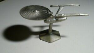 Rawcliffe Star Trek Enterprise Ncc-1701-A,The Voyage Home- 1994-pewter #789   a3