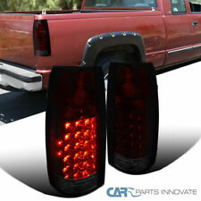 88-98 Chevy GMC C/K C10 Suburban Blazer Tahoe Red/Smoke LED Tail Brake Lights