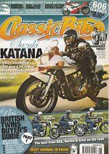 BSA Norton Ariel  Suzuki Katana Scott Squirrel British Twins 8/2011 Classic Bike