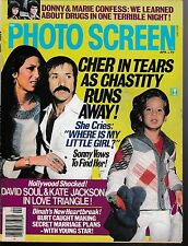 Photo Screen--April 1977--Sonny & Cher & Chastity-----29