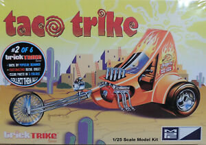 TACO TRIKE CUSTOM MOTORCYCLE MPC 1:25 SCALE PLASTIC KIT
