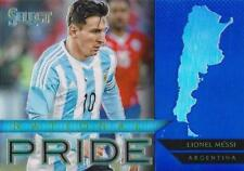 2015 Panini Select Soccer 'National Pride' Blue Parallel Serial Numbered /299