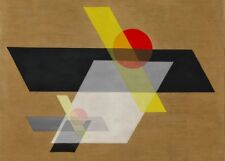 "Laszlo Moholy-Nagy ""un II"", 1924, Bauhaus/constructivismo póster de 250gsm A3"
