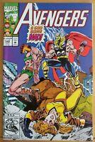 The AVENGERS #349 (1992 MARVEL Comics) ~ FN Comic Book