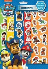Blue Paw Patrol Sticker Sheets - Stationery Pen School Bag To Fun Kids Childs