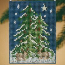 Forest Tree Beaded Ornament Kit Mill Hill 2010 Festival of Trees