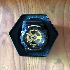 Casio G-Shock GA-110GB Quartz Analog Digital Men's Watch Black Golden