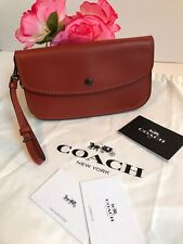 Coach 27528 Large 1941 Clutch in Chili Glovetanned Leather, $250🌸