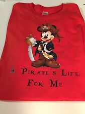 New Mickey Mouse Disney Inspired Shirt pirate's life For Me