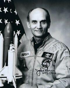 GFA Astronaut NASA STS-51-D Senator JAKE GARN Signed 8x10 Photo J2 COA