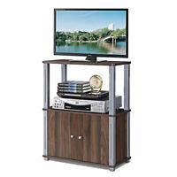 TV Stand Component Console Multipurpose Shelf Display Rack w/ Storage Cabinet
