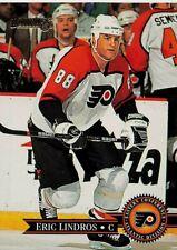 1995-96 Donruss Flyers Hockey Card #1 Eric Lindros