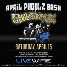 PHUNK JUNKEEZ / MOONSHINE BANDITS 2017 PHOENIX CONCERT TOUR POSTER- Hip/Trip Hop
