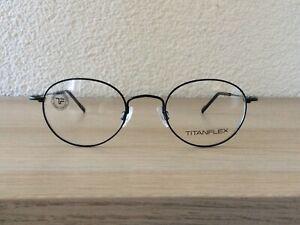 Eschenbach Titan Flex Brillenfassung Rahmen Gestell 3666 10 Schwarz Matt NEU !!