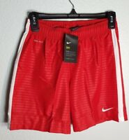 Women Nike Shorts Dri-Fit Red Running/Sports/Gym Active Shorts Size S