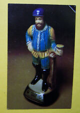 1979 Falstaff Advertising Postcard Jim Beam Decanter comic opera Giuseppe Verdi