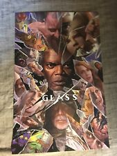 "Sdcc 2018 Alex Ross ""Glass� Movie Poster Print 11x17 Comic-Con Exclusive"