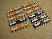 11x Server RAM DDR2 ECC Fully Buffered Memory 2x1GB+5x512MB Hynix,4x512MB Elpida