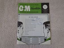 FORD OPERATING MERCHANDISING NEWSLETTER APRIL 1961 w 390 HIGH PERFORMANCE INTRO