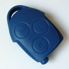 Ford Transit Connect 3 Button Blue Remote Key Fob Case With Insert