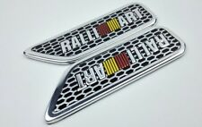 Ralli Art RalliArt Silver Fender Badge Sticker Decal 3D Logo Emblem Top Quality