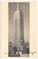 F.H. Radowski Postcard Empire State Building in New York City~104557